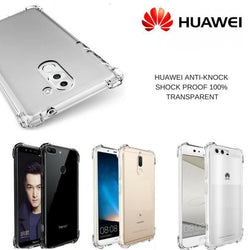Huawei Anti-Knock shock Proof 100% Transparent - Phonecase.PK