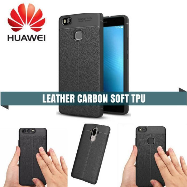 Huawei Carbon Leather protective TPU Case - Phonecase.PK