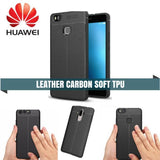 Huawei Carbon Leather Protective Tpu Case