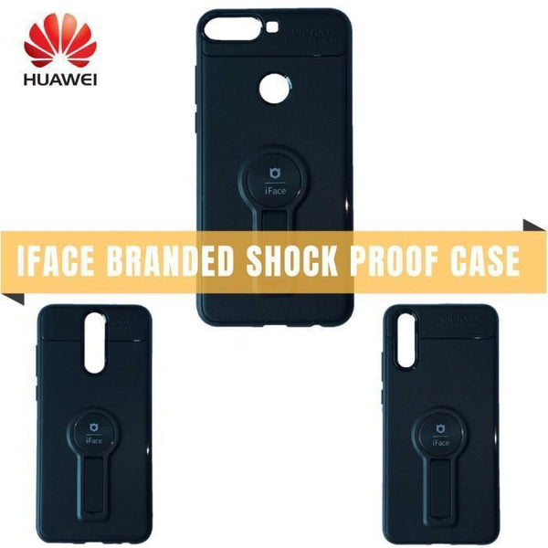 Huawei Iface Branded Shock Proof Case With Kickstand