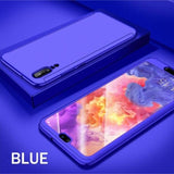 Huawei P20 Lite 360 Protection Front+Back+Free Glass / Blue