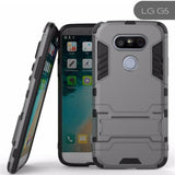 Hybrid Tpu+Pc Iron Man Armor Shield Case For Lg All Models G5
