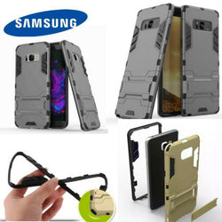 Hybrid Tpu+Pc Iron Man Armor Shield Case For Samsung All Models