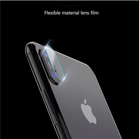 100% authentic 7681d c128f iPhone X 7H TEMPERED GLASS FOR BACK CAMERA LENS FILM PROTECTOR