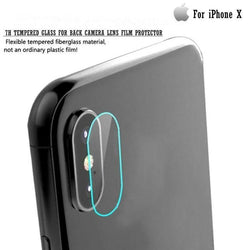 Iphone X 7H Tempered Glass For Back Camera Lens Film Protector