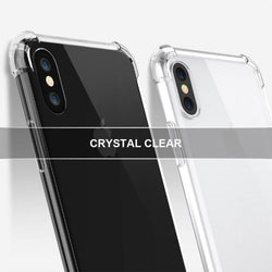 Iphone X Series Anti Knock Shock Proof Transparent Tpu Case