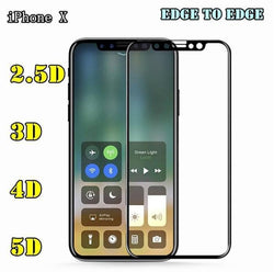 Iphone X Tempered Glass Protector In 2.5D 3D 4D 5D