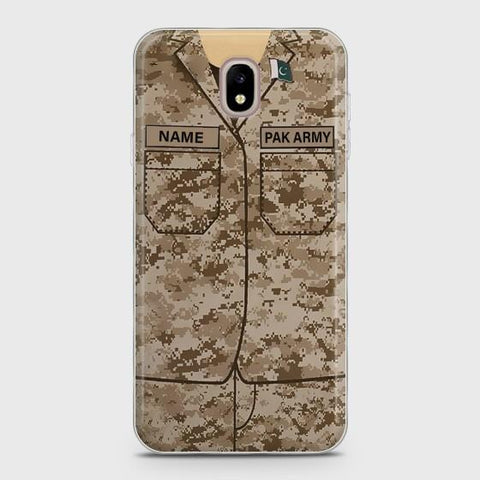 Samsung Galaxy J3 Army shirt with Custom Name Case