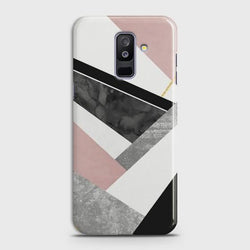 Samsung Galaxy J8 2018 Luxury Marble design Case