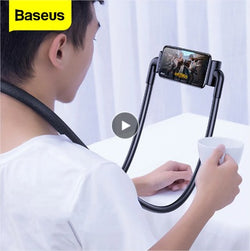 Baseus Flexible Lazy Neck Phone Holder Stand Universal Mobile Phone Mount Bracket