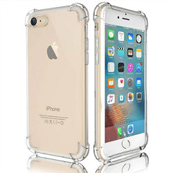 Anti Knock Transparent Crystal Clear Case for All iPhone Models