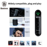 Baseus Car Aux Bluetooth 5.0 Adapter Wireless 3.5mm Audio Receiver