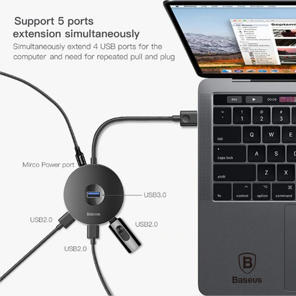 Baseus USB HUB USB 3.0 USB HUB for MacBook Computers