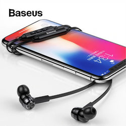 Baseus S06 Neckband Bluetooth Earphone Wireless earphones with HD Mic