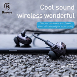 Baseus S30 Bluetooth Earphone Wireless Lightweight Sport earphones IPX5 Waterproof