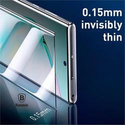 Baseus Pack of 2pcs 0.15mm Full Screen Protector Film for Samsung Galaxy Note 10 Note 10 Plus