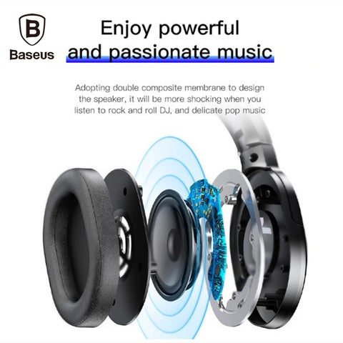 Baseus D02 Wireless Headphone Bluetooth 5 0 Earphone Buy In Pakistan