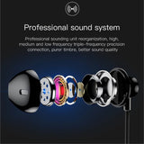 Baseus H06 3.5 mm 6D Microphoe Stereo In-ear Earphone Wired Headphones