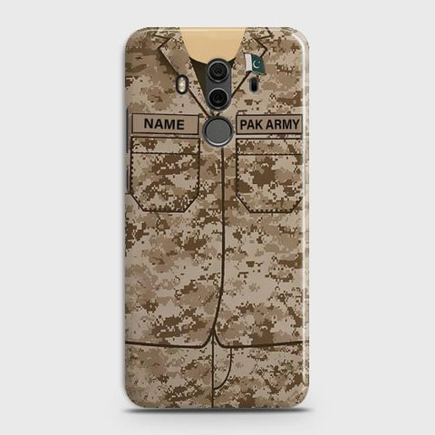 Huawei Mate 10 Pro Army shirt with Custom Name Case