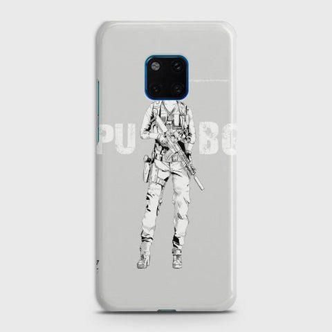 Huawei Mate 20 Pro PUBG Lady Warrior Phone Case - Phonecase.PK
