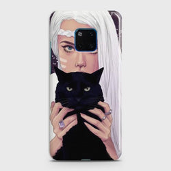 Huawei Mate 20 Pro Wild Black Cat Phone Case