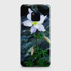 Huawei Mate 20 Pro White Flower Phone Case - Phonecase.PK