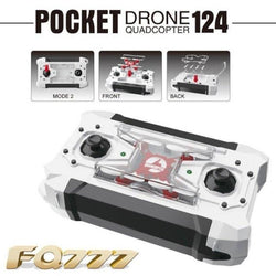 Micro Pocket Drones 4Ch 6Axis Gyro Switchable Mini Remote Control Quadcopter