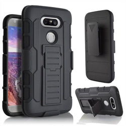 Military Style Tough Hybrid 3 In 1 3D Kickstand Belt Clip Armour Case Lg G4 And G5