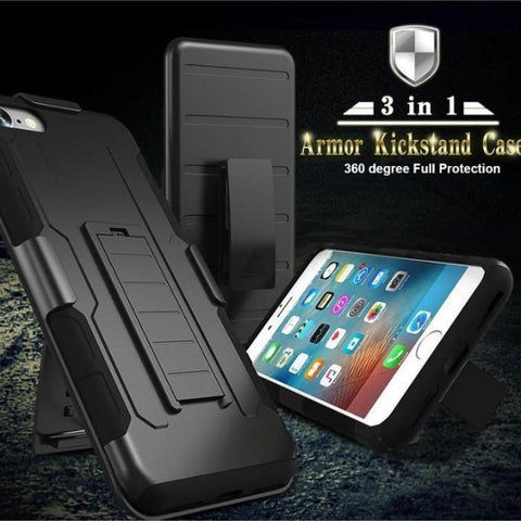 Military Style Tough Hybrid Armour Case For All Iphone Models 8Plus