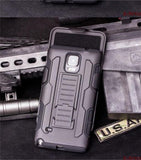 Military Style Tough Hybrid Armour Case For All Samsung Models Note 4