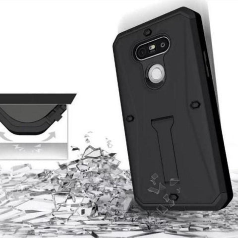 Military Tanks Armour Pc + Tpu Hybrid Armor Stents Case Cover For Lg G4