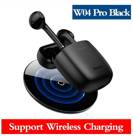 Baseus W04 Pro TWS Wireless Bluetooth Earphone Headphone 5.0 In Ear True Wireless