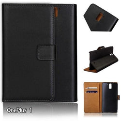 New Luxury Wallet Pu Leather Flip Cover For Oneplus