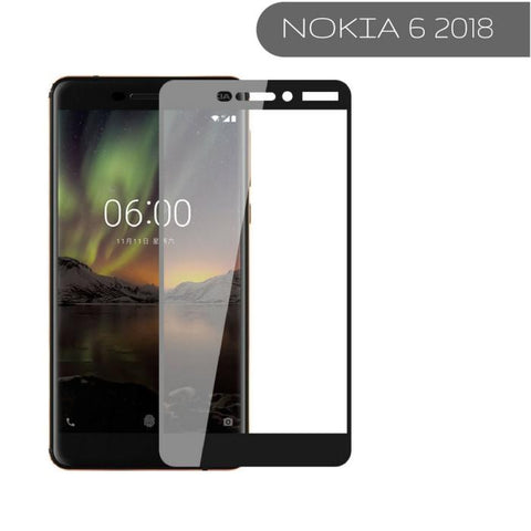 Nokia Edge to Edge covered 3D Tempered Glass Protector in