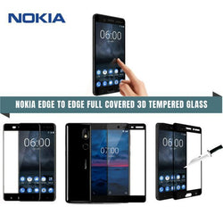 Nokia Edge To Full Covered 3D Tempered Glass Protector