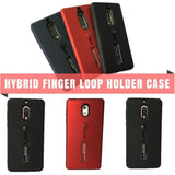 Nokia Hybrid Finger Loop Holder Branded Case