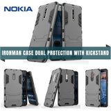 Nokia Iron Man Case Dual Protection With Kickstand