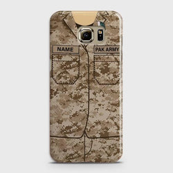Samsung Galaxy Note 5 Army shirt with Custom Name Case