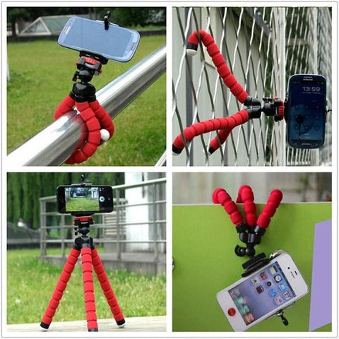 Flexible Octopus Leg Phone Holder Smartphone Accessories Stand Support For Mobile Tripod For Phone For Xiaomi Redmi Note 5a Mobile Phone Accessories Mobile Phone Holders & Stands