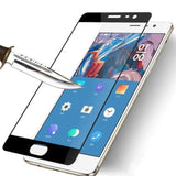 Oneplus 3/3T Edge To Covered 3D 9H Tempered Glass Black