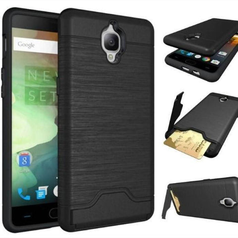 Oneplus 3/3T Shockproof Kickstand Card Slot Case