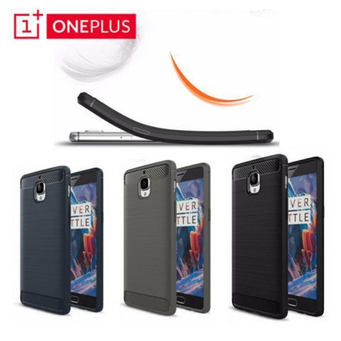 Oneplus 3/3T Wire Drawing Anti Shock Anti-Knock Cover