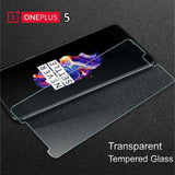 Oneplus 5 Clear 9H Tempered Glass