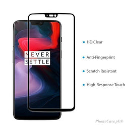 Oneplus 6 Full Covered Edge To Glass
