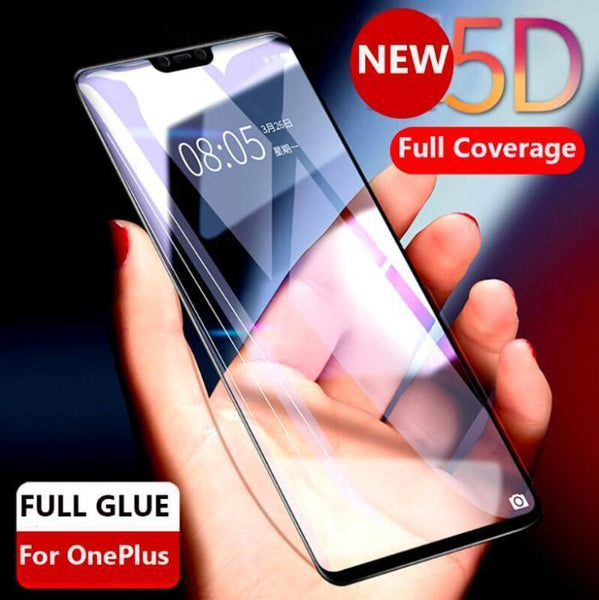 Oneplus 6 Full Glued 5D Edge To Glass Hd