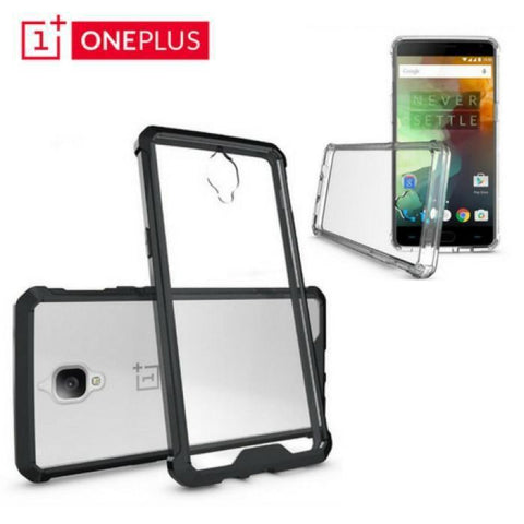 Oneplus3/3T Hybrid Shockproof Case ( Dual Protection)