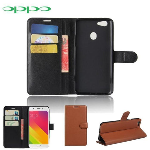Oppo All Model Leather Flip Wallet Case