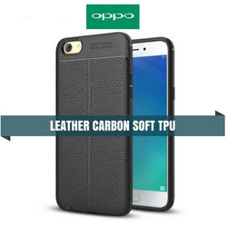Oppo Carbon Leather Protective Tpu Case
