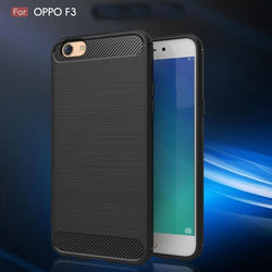 Oppo Carbon Wiredrawing Shock Proof Case