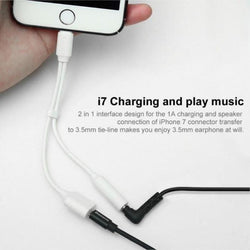 Original Baseus 2-In-1 Cable For Apple & Ios Music+Charging